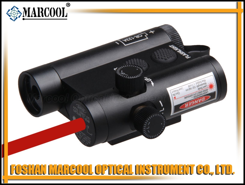 LF-3RLED Flashlight and Red Laser Integration with Weaver Mount & Remote Switch