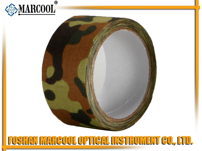 German Camouflage Cotton Cloth Duct Tape 5CMX1000CM