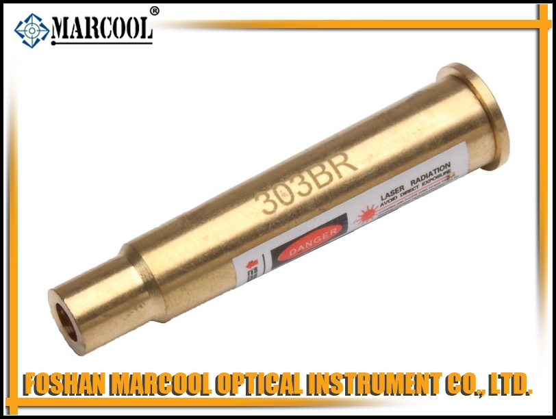 303BR Cartridge Red Laser Bore Sighter