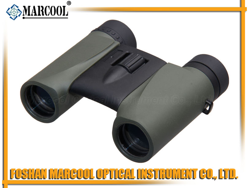 8X25 Mini Green Binocular