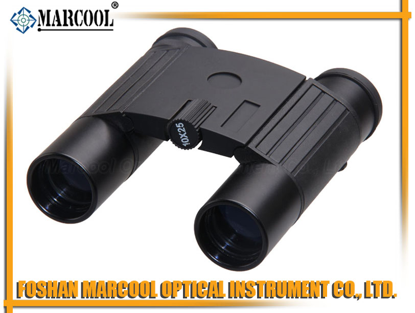 10X25 Mini Black Binocular