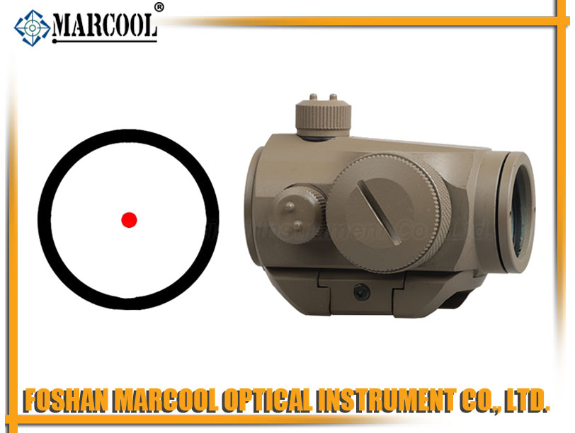 Micro T-1 Red Dot Rifle Sight  tan