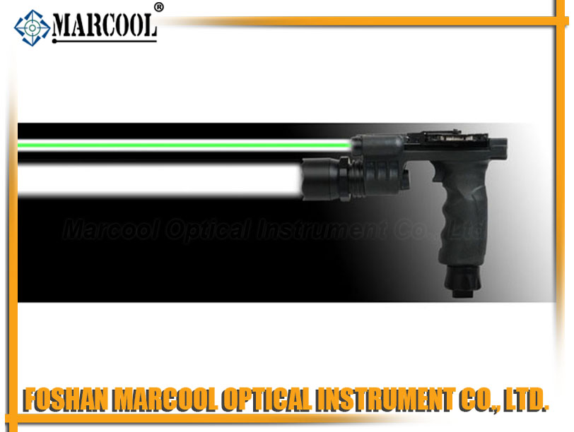 M900 green laser LED flashlight grip