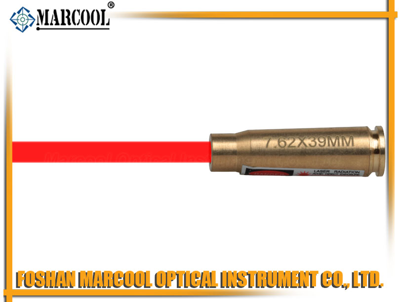 7.62X39MM Mag. Cartridge Red Laser Bore Sighter