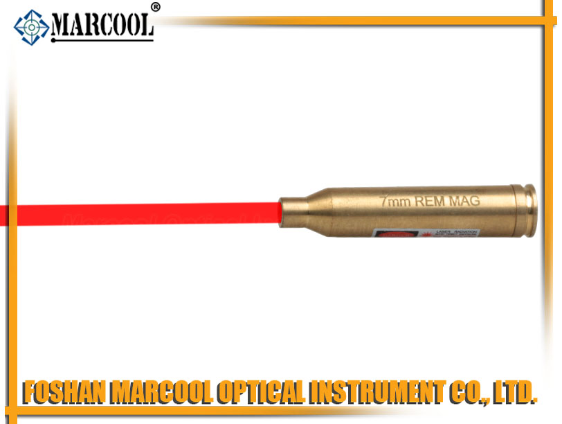 7MM REMMAG Mag. Cartridge Red Laser Bore Sighter
