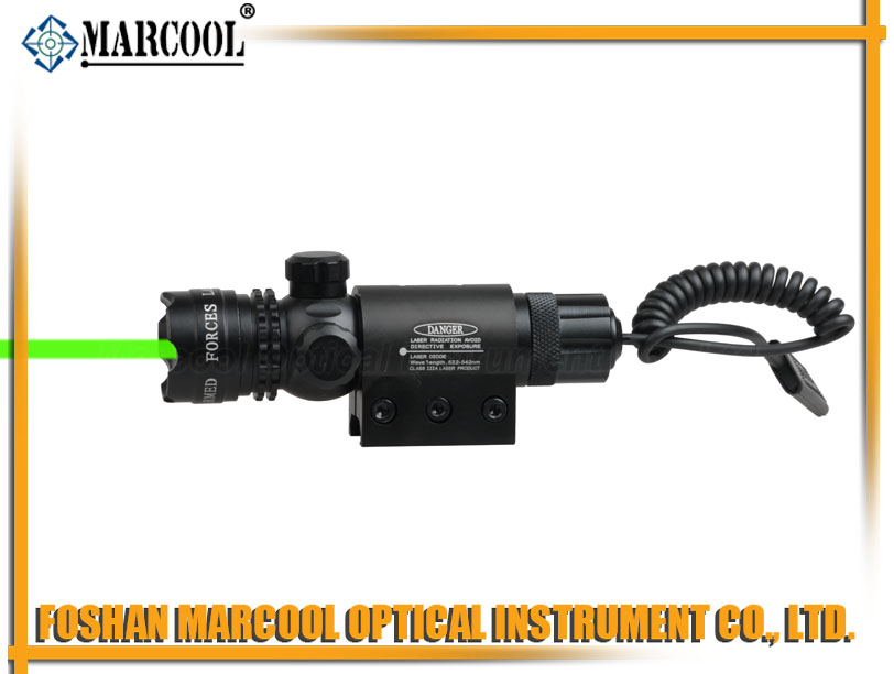 outside adjustable Green Laser Sight Scope(JG-1)