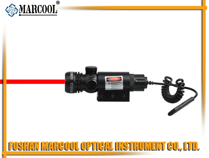 outside adjustable Tactical Red Laser Sight Scope(M01)