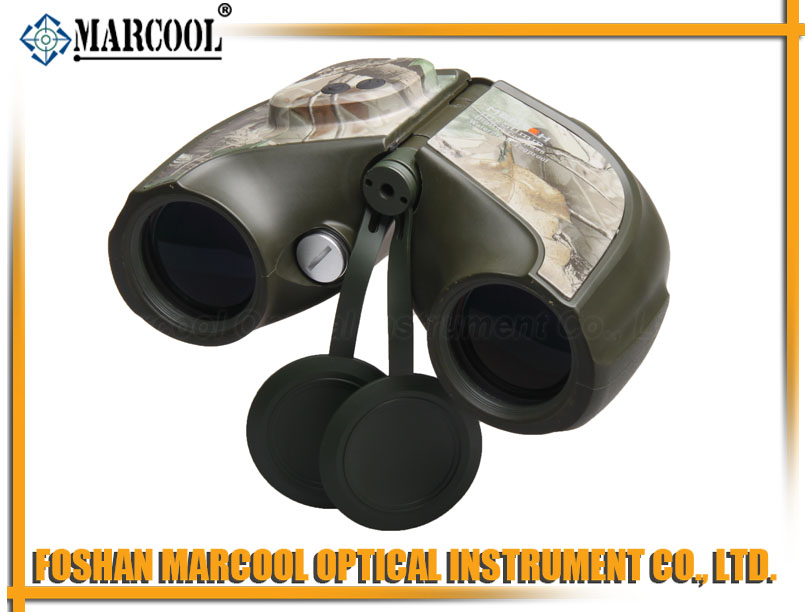 7x50 Camouflage Binocular with Digital Compass