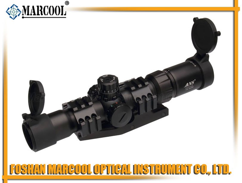 ANS 1.5-4X30 Tri-illuminated CQB scope