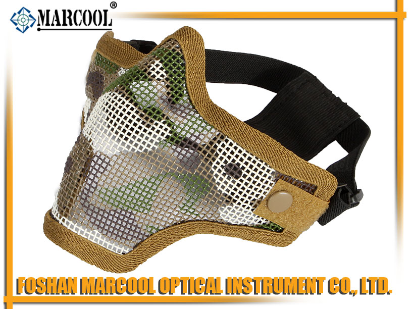 M2 Strike Steel Half Face Mask Gen 1 Multicam