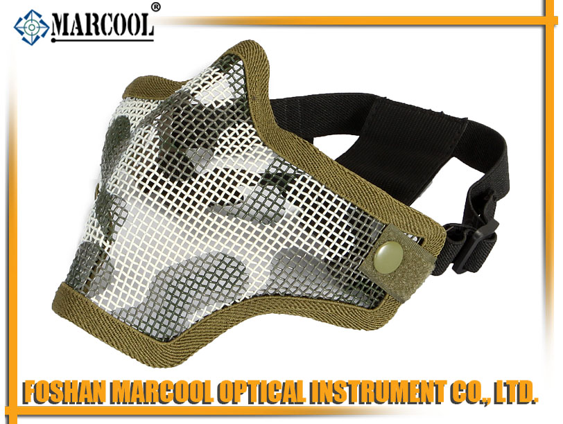 M2 Strike Steel Half Face Mask Gen 1 Jungle Camouflage