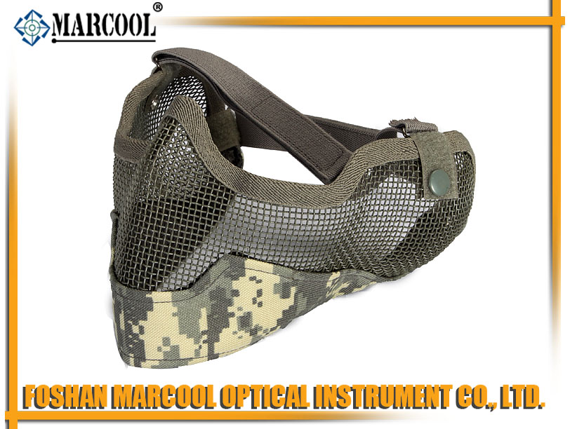 strike steel half face mask gen.2 ACU