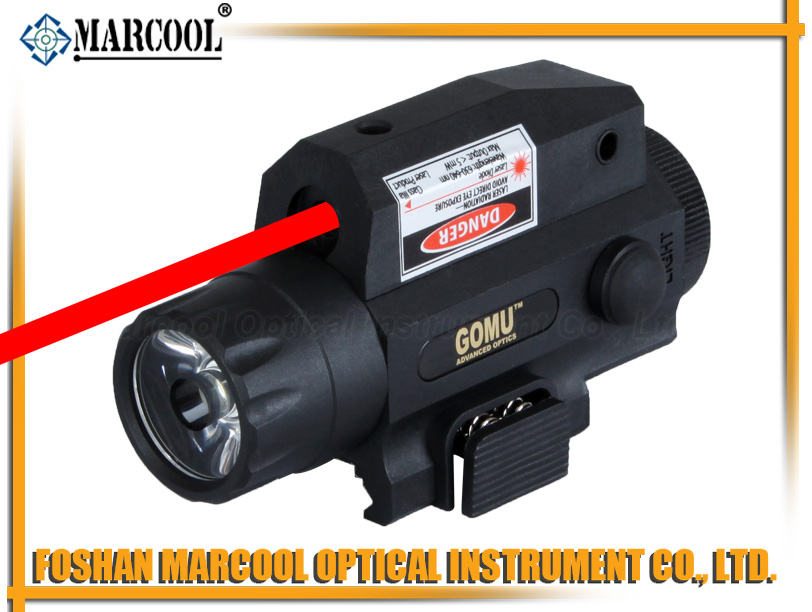 GOMU LF-5R Flashlight & Red Laser Sight Integrator with Remote Switch