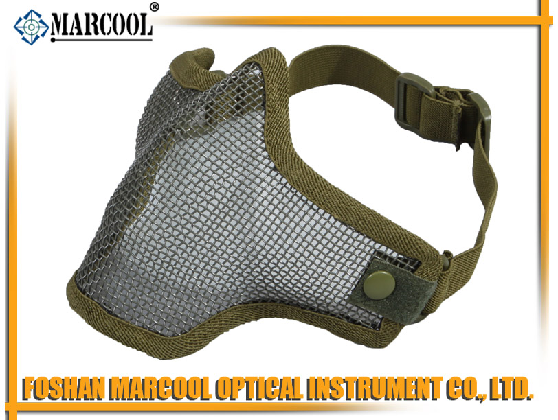 M1 Strike Steel Half Face Mask Gen 1 OD green