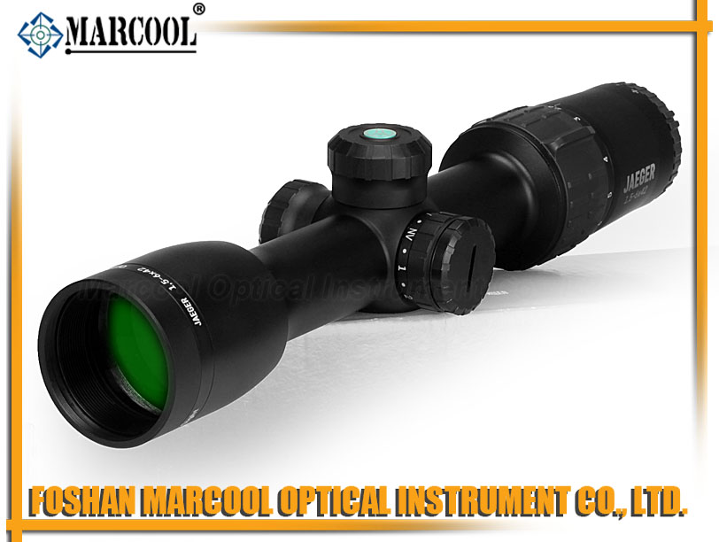 Jaeger 1.5-6X42 IR Rifle Scope SKU # 23026