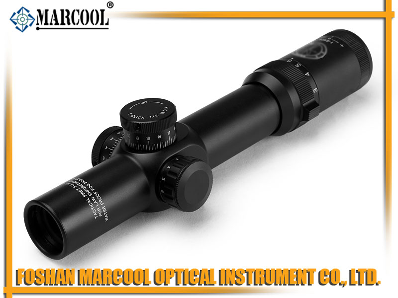 MILITARY STANDARD 1-6X28 IRG FFP RIFLE SCOPE MAR-107