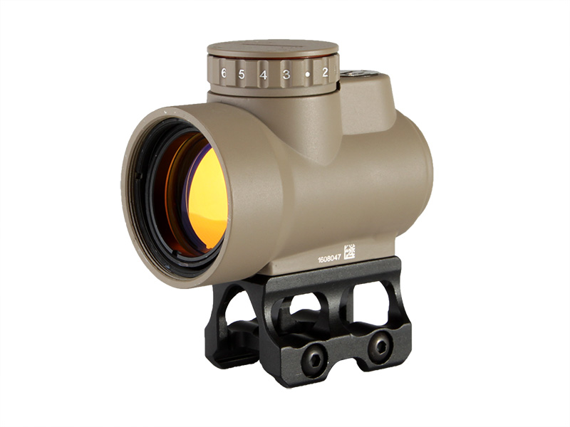1X25 sealed miniature reflex sight (Tan)