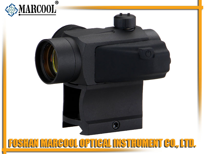 Micro T-1 1X22 Red Dot with High Mount in black