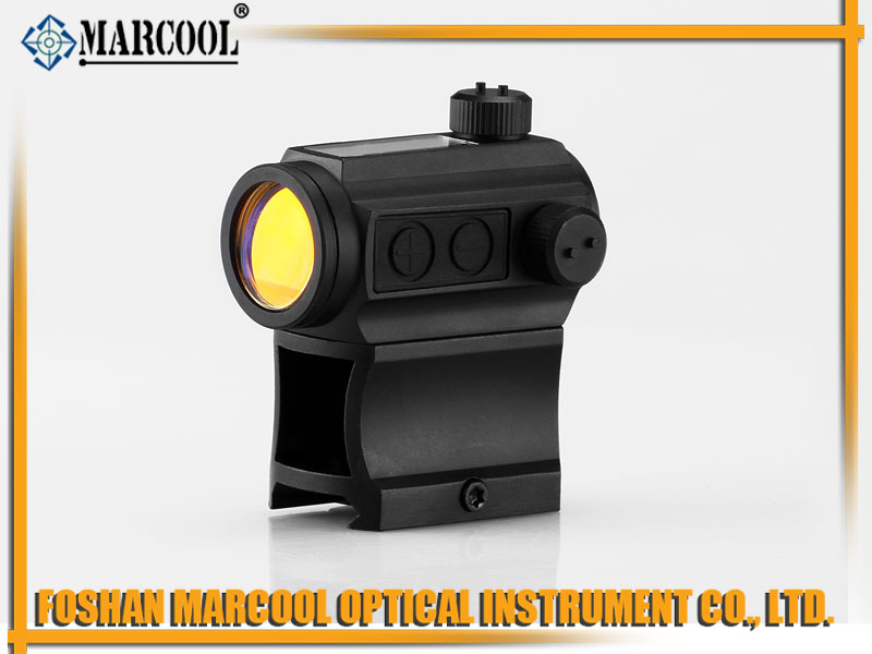 Micto T-1 red dot sight with Sun Power and high mounts