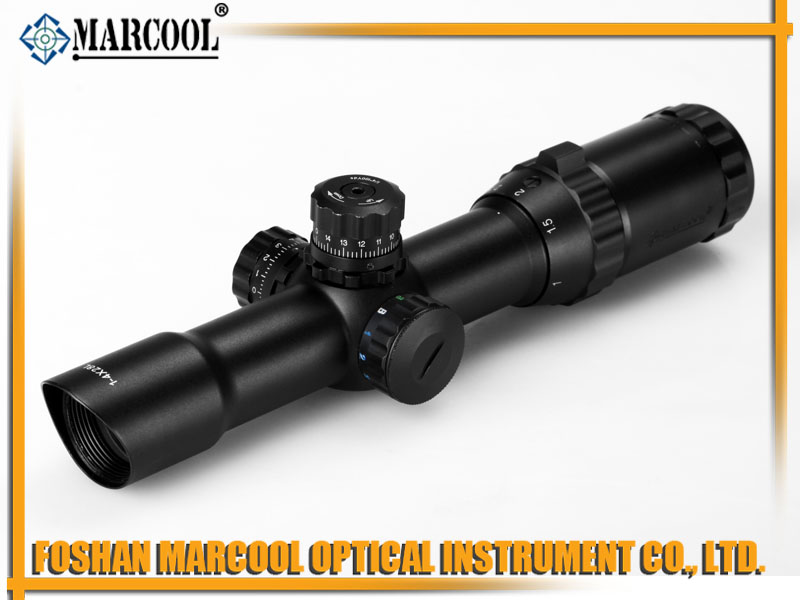 MARCOOL EST 1-4X28 IRGBL RIFLE SCOPE MAR-006