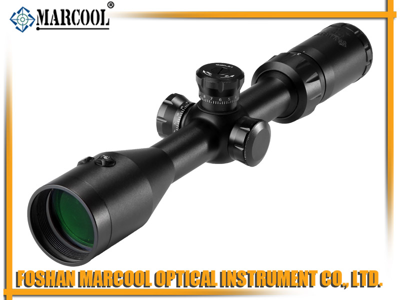 MARCOOL EST 3-9x42 RIFLE SCOPE MAR-007  Integrated Red Laser