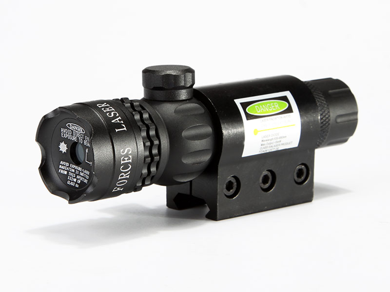 JG-1 Outside Adjustable Green Laser Sight With Attack Head & Switch