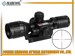 1.5-5X32 AO IRG with Red sight Rifle Scope