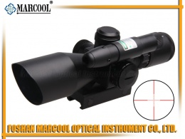 2.5-10X40 RG Riflescope with Green Laser Sight