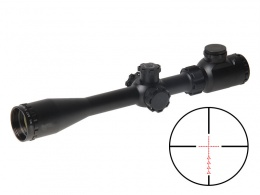 Contender 6-24X40 RGB Mildot Rifle Scope MAR-017