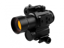 Marcool 1x30  Red Dot Sight With Red Laser & Mount