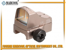 Auto Ruggedized Miniature Reflex sight in golden III